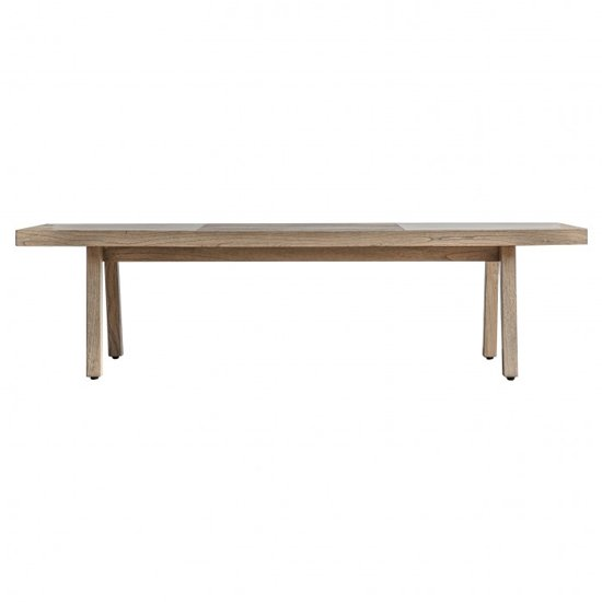 Kyona Wooden Coffee Table In Oak
