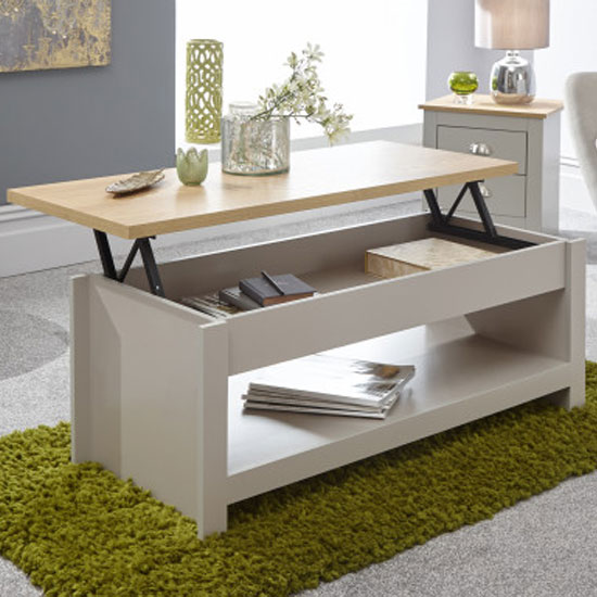 Valencia Wooden Lift Up Coffee Table In Grey And Oak_2