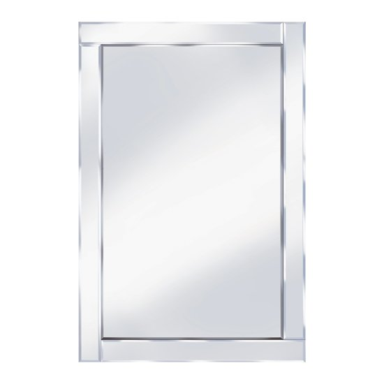 Bevelled 120x80 large wall mirror 15132 furniture in for Miroir 80x120
