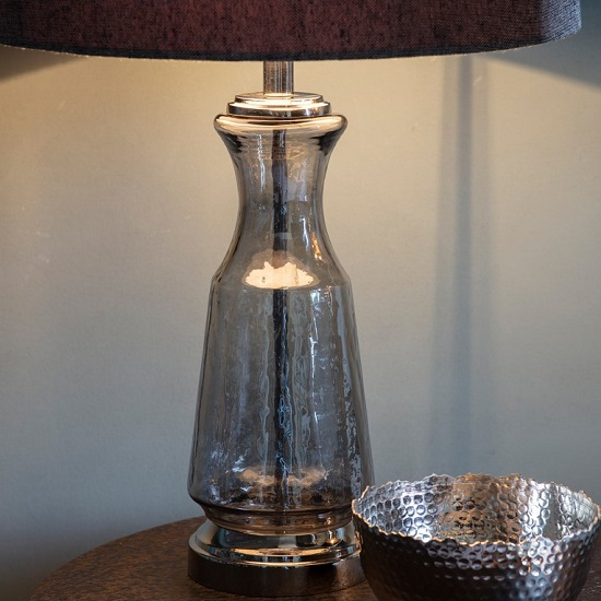 Lastrea Table Lamp With Textured Glass Base_2