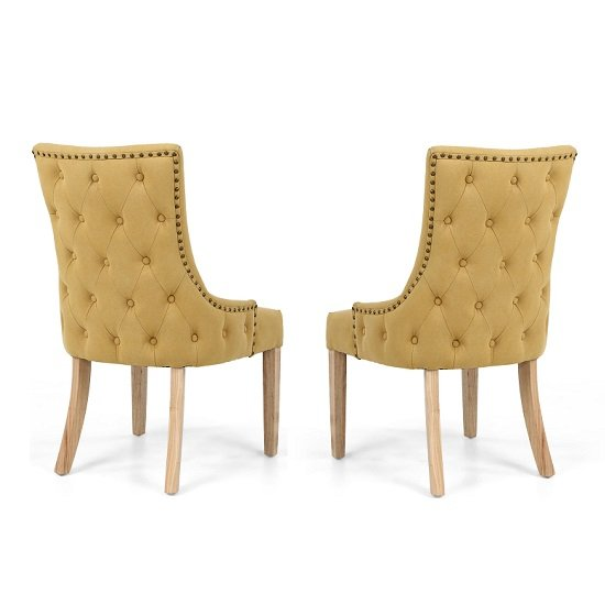 Lavinia Accent Chair In Jonquil Yellow In A Pair_4