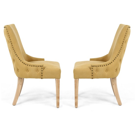 Lavinia Accent Chair In Jonquil Yellow In A Pair_3