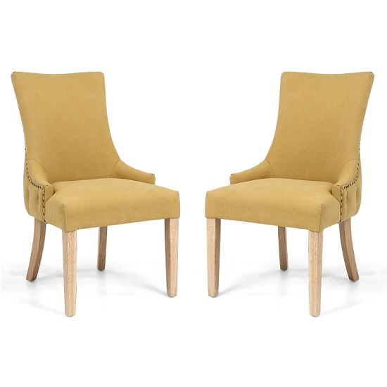 Lavinia Accent Chair In Jonquil Yellow In A Pair_2