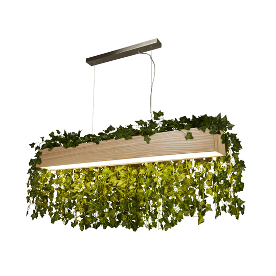 View Led wood bar pendant ceiling light