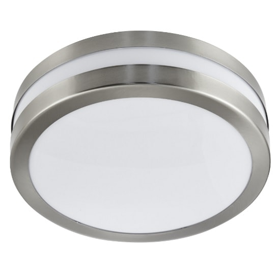Outdoor 2 Light Flush Bulkhead In Stainless Steel