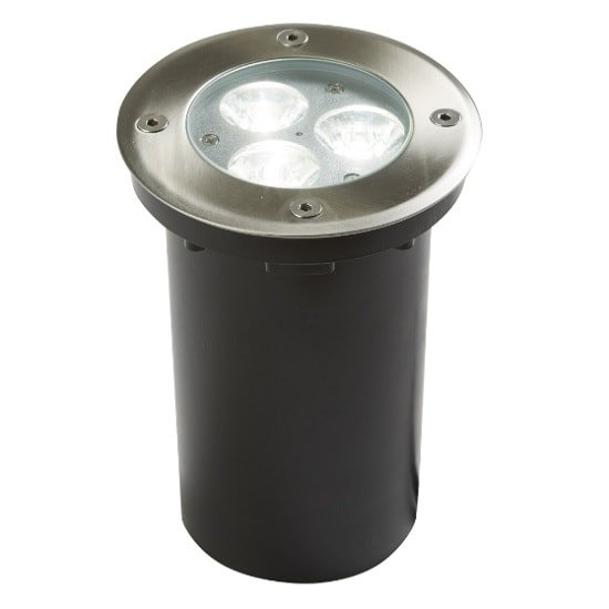 LED Outdoor Walkover Light In Stainless Steel And Glass