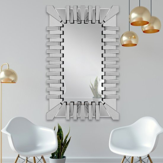 Lema Designer Rectangular Wall Mirror_1