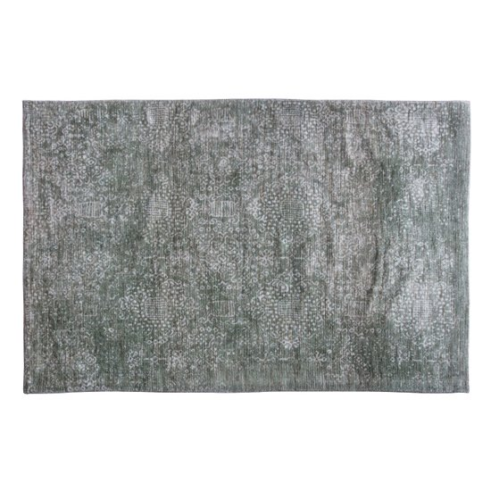 Lennox Small Fabric Upholstered Rug In Sage