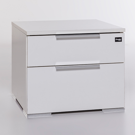 Levelup Wooden Chest Of Drawers In White