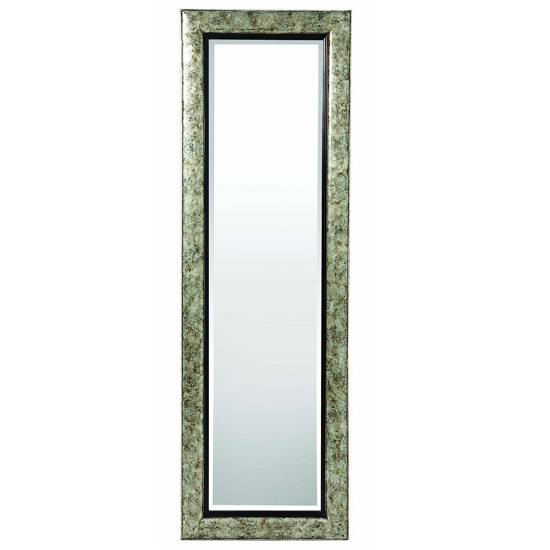 wall kitchen cabinet lewis wall mirror in umber glaze broken silver 28063