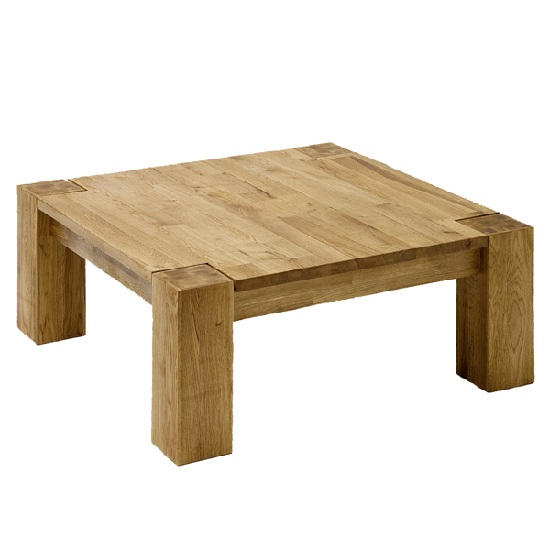 Liberty Wooden Coffee Table Square In Knotty Oak