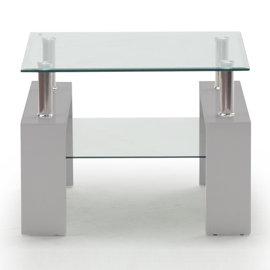 Lilia Tempered Glass Lamp Table With Grey Finish Legs_1