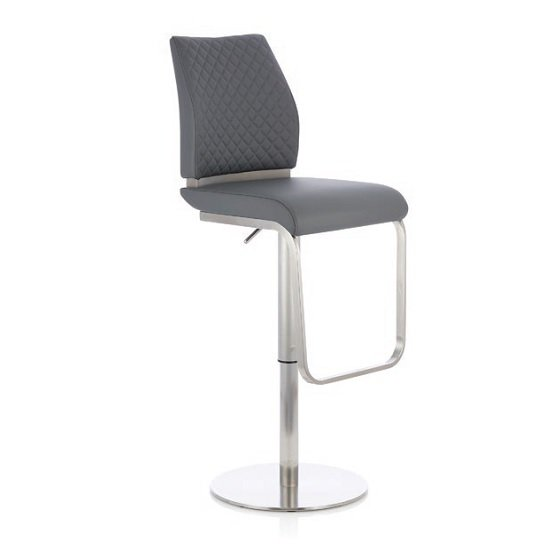 Contemporary and comfortable gas lift bar stools from Furniture in Fashion