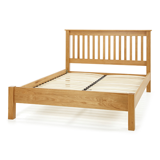 Lincoln Wooden Super King Size Bed In Oak_3