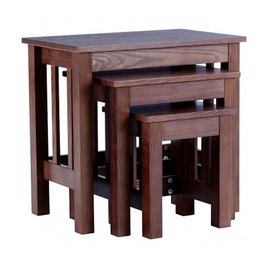Lincolno Set Of 3 Wooden Nesting Tables In Walnut_1