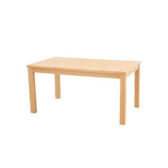 Linden Wooden Dining Table In Oak