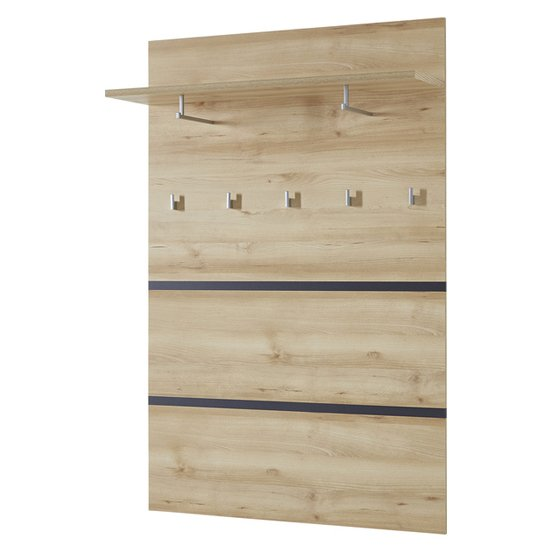 Lissabon Coat Rack Panel In Noble Beech
