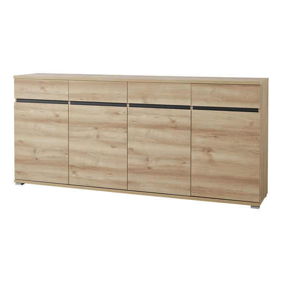 Lissabon Large Sideboard In Noble Beech