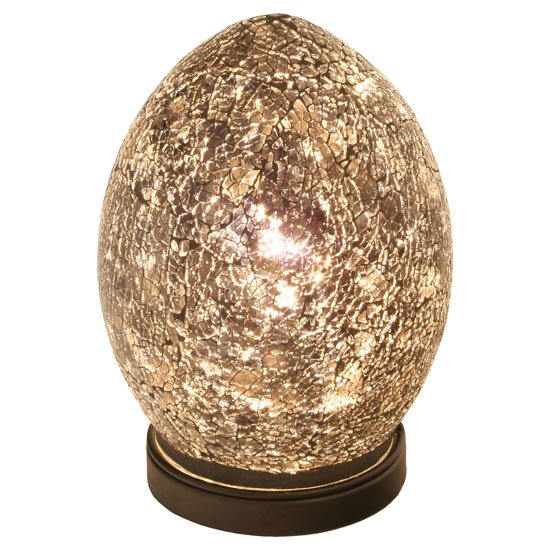 Light Stand For Egg: Mosaic Amber Egg Lamp 6552 Furniture In Fashion