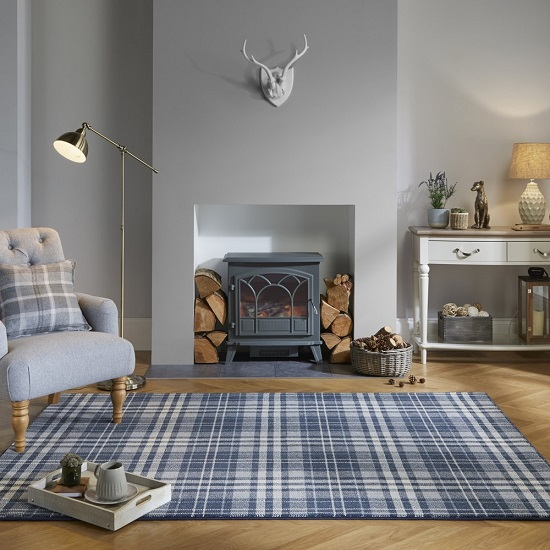 Loch Kilbirnie Dark Grey Finish Rug