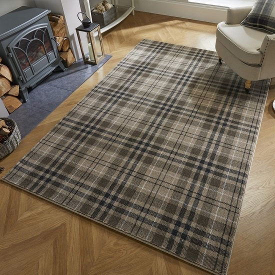 Loch Kilbirnie Natural Finish Rug
