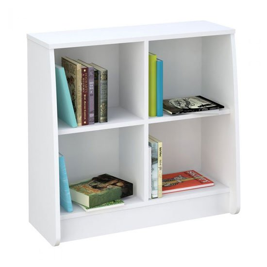 Loft Station Kids Bookcase In White