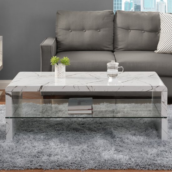 Momo High Gloss Coffee Table In Vida With Glass Undershelf_2