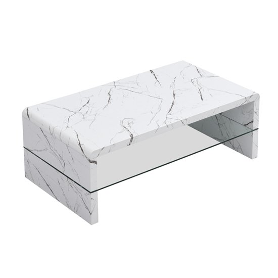 Momo High Gloss Coffee Table In Vida With Glass Undershelf_4