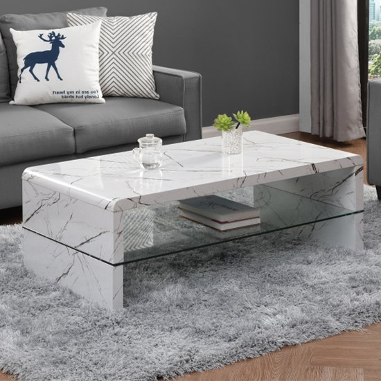 Momo High Gloss Coffee Table In Vida With Glass Undershelf_1