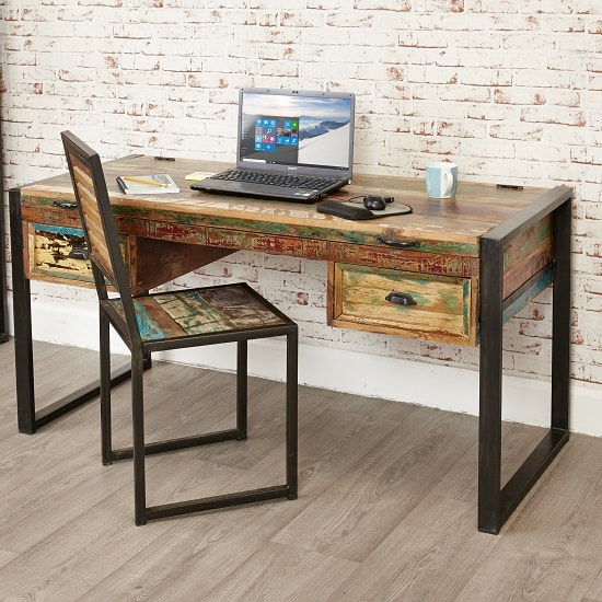 London Urban Chic Wooden Laptop Desk With Lift Up Top 32156