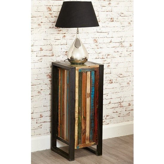 London Urban Chic Wooden Plant Stand Or Lamp Table_2