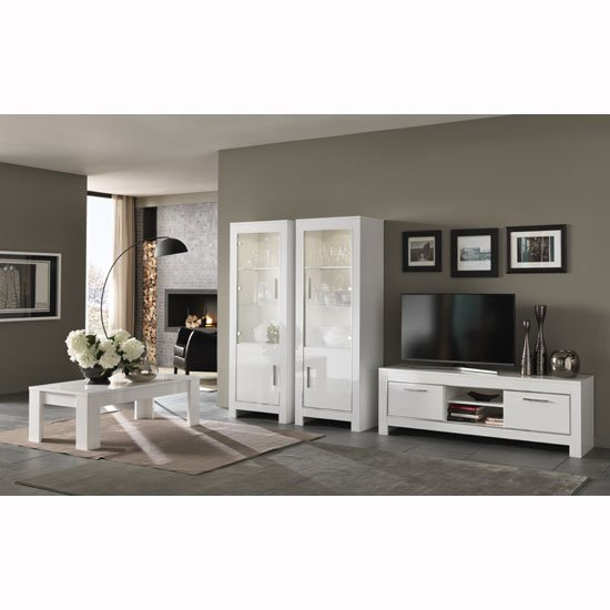 Lorenz Living Room Set In White High Gloss And LED Lighting_2