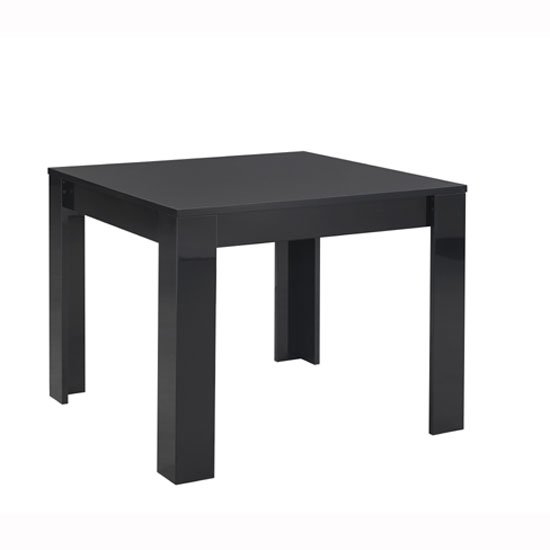 Lorenz Dining Table Square In Black High Gloss