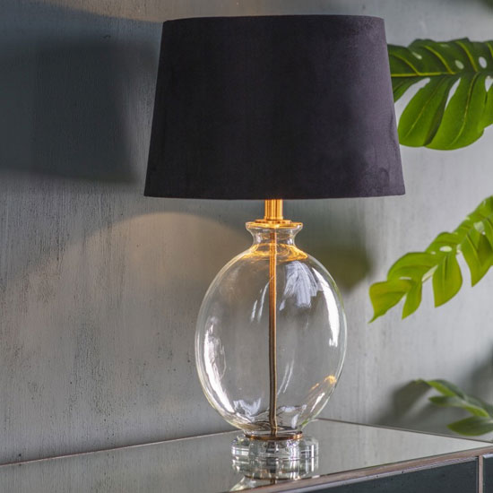 Lowther Table Lamp In Gold