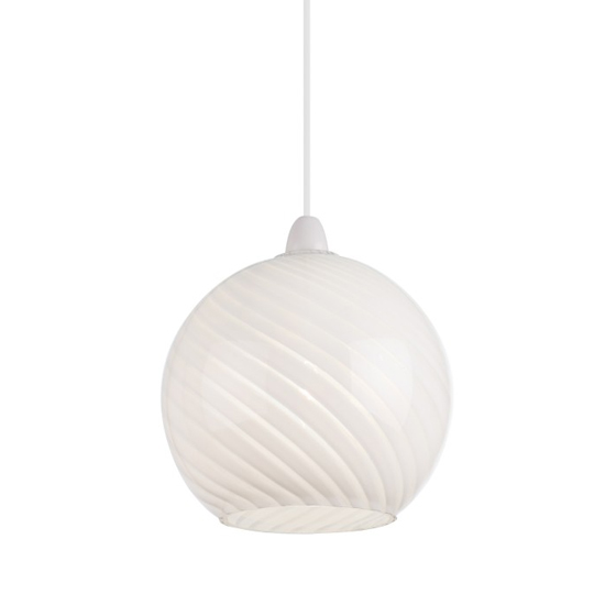 Lowther Wall Hung Pendant Light In White_1