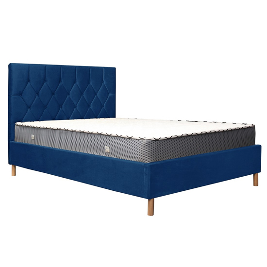 Loxley Fabric Upholstered King Size Ottoman Bed In Blue_5