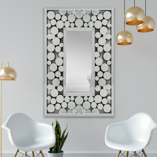 Loya Designer Rectangular Wall Mirror_1