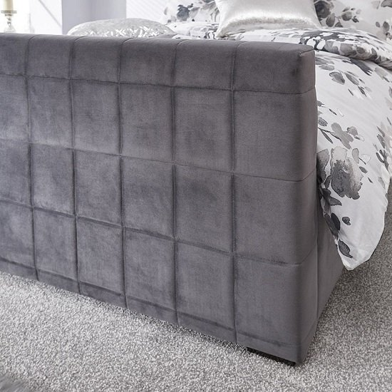 Luckey Upholstered Ottoman Storage Bed In Grey_4