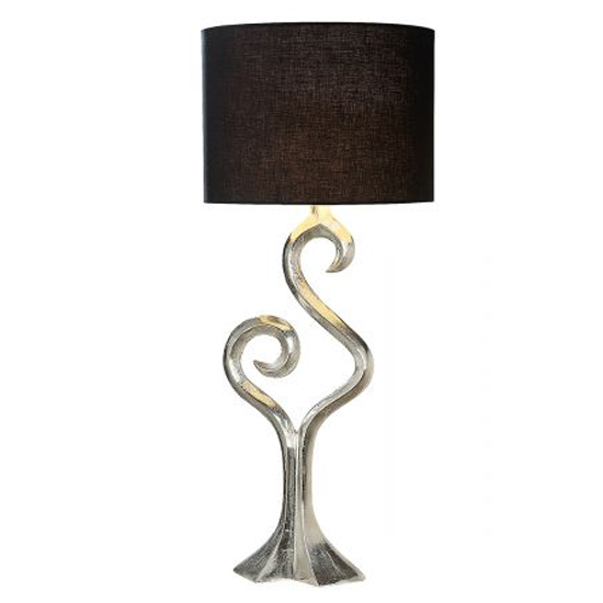 Luma Large Table Lamp In Silver And Brown_2