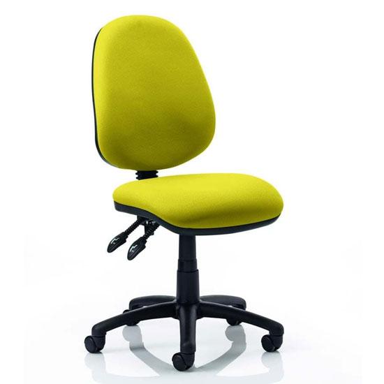 Luna II Office Chair In Senna Yellow