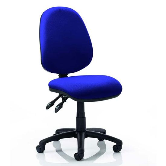 Luna II Office Chair In Stevia Blue