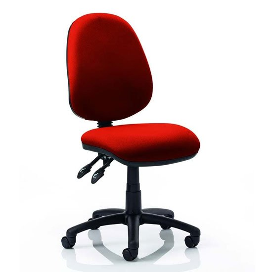 Luna II Office Chair In Tabasco Red