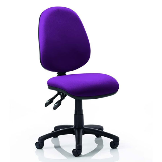 Luna II Office Chair In Tansy Purple