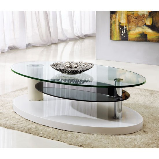 luna coffee table clear - 10 Surprising Facts About Contemporary Glass Coffee Tables