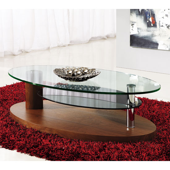 4 popular designs of coffee tables with rounded corners for Rounded edge coffee table