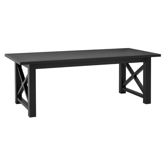 Lyox Rectangular Wooden Dining Table In Black_1