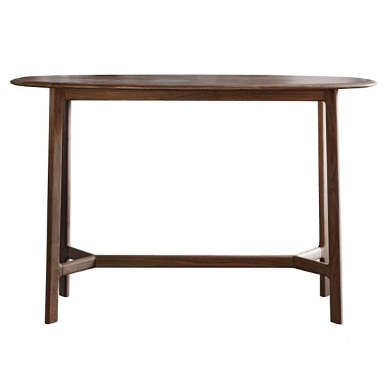 Madrid Wooden Console Table In Walnut