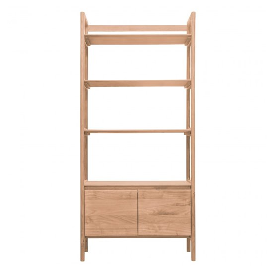 Madrid Open Wooden Display Unit In Oak