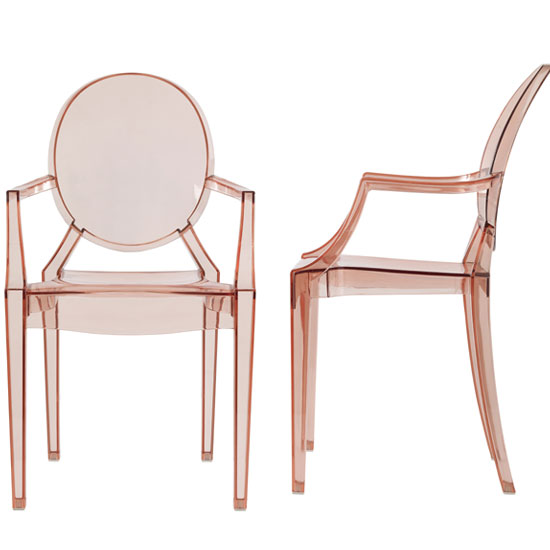 Lilly Pink Dining Room Chair in A Pair