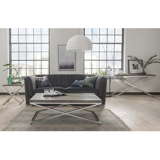 Malta Wooden Coffee Table In Grey With Stainless Steel Legs_3